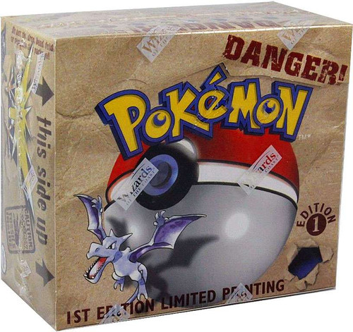 Pokemon Trading Card Game Fossil 1st Edition Booster Box [36 Packs]