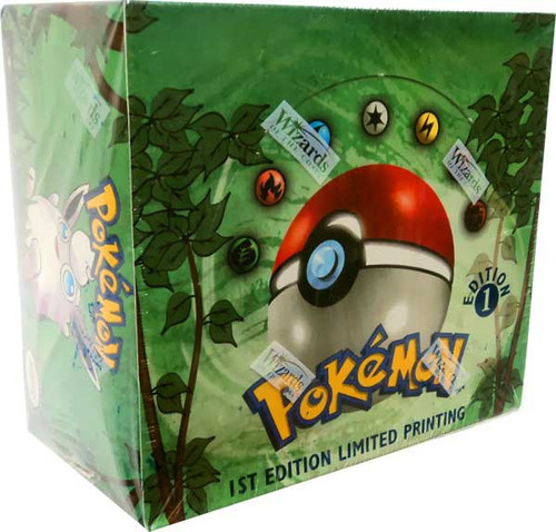 Pokemon Trading Card Game Jungle Booster Box [1st Edition, 36 Packs]