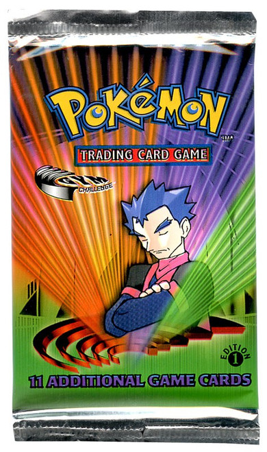 Pokemon Trading Card Game Gym Challenge Booster Pack [1st Edition]