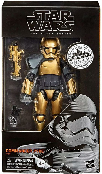 Star Wars Galaxy's Edge Black Series Commander Pyre Exclusive Action Figure