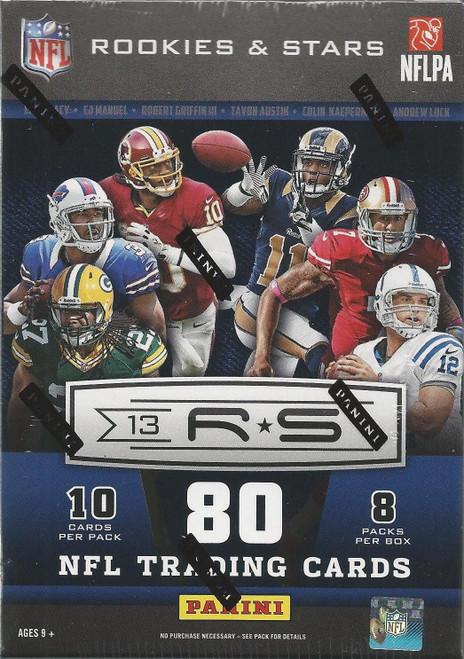 NFL Panini 2013 Rookies & Stars Football Trading Card BLASTER Box [10 Packs!]
