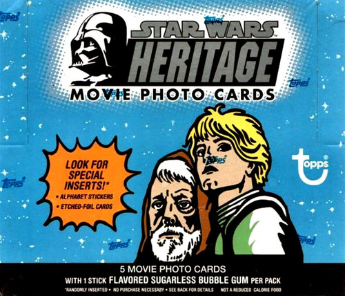 Star Wars Topps 2004 Heritage Trading Card HOBBY Box [36 Packs]