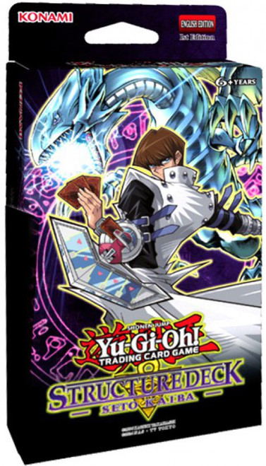 YuGiOh Trading Card Game Seto Kaiba Structure Deck [Damaged Package]