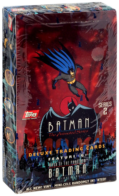 DC Batman The Animated Series Series 2 Animated Trading Cards Trading Card Box