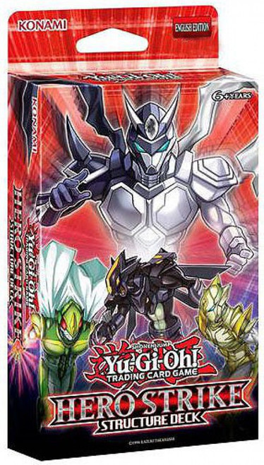 YuGiOh Trading Card Game HERO Strike Structure Deck [Unlimited Edition, Damaged Package]