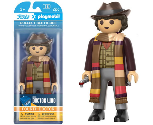 Doctor Who Funko Playmobil 4th Doctor Action Figure [Damaged Package]