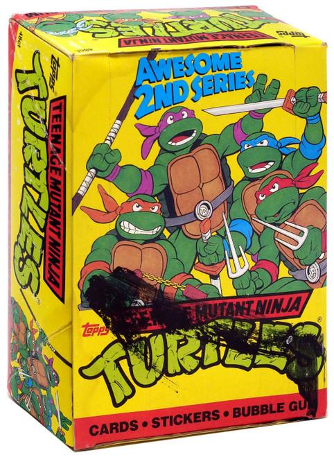 Teenage Mutant Ninja Turtles Awesome 2nd Series Trading Card Box