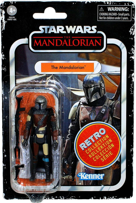 Star Wars Retro Collection Series 3 The Mandalorian Action Figure (Pre-Order ships May)