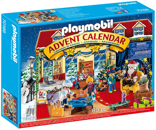Playmobil Advent Calendar Christmas Toy Store Set #70188