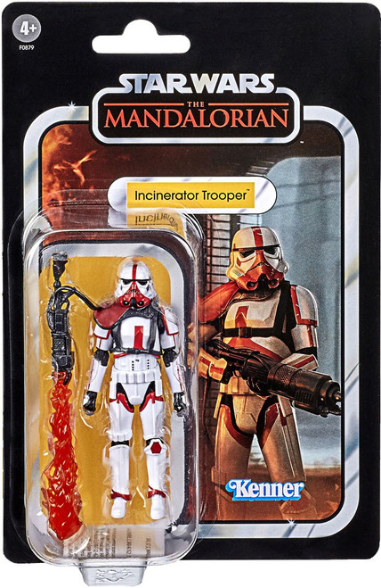 Star Wars The Mandalorian Vintage Collection Incinerator Trooper Exclusive Action Figure