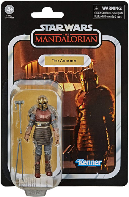 Star Wars The Mandalorian Vintage Collection The Armorer Action Figure (Pre-Order ships January)