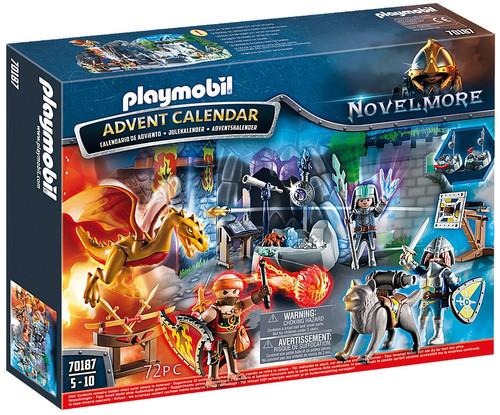 Playmobil Novelmore Advent Calendar Battle for the Magic Stone Set #70187