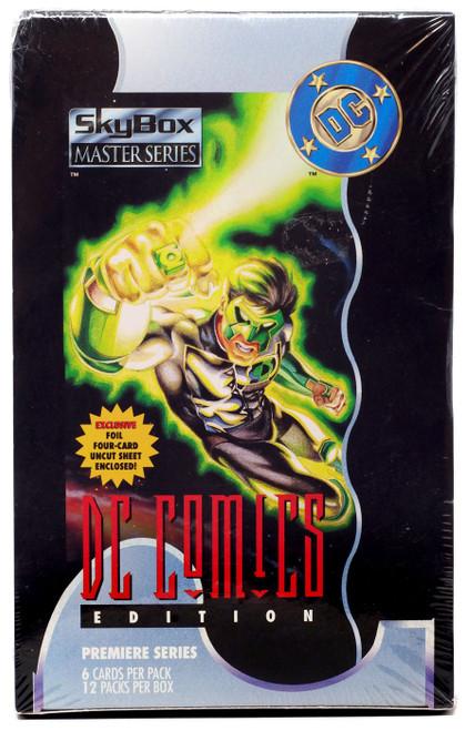 Master Series DC Comics Edition Trading Card HOBBY Box [12 Packs]