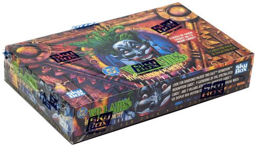 DC Villains: The Dark Judgement Trading Card Box