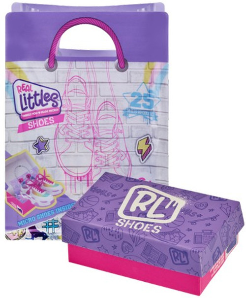 Shopkins Real Littles Sneakers Mystery Pack [1 RANDOM Mini Backpack & 6 Surprises!] (Pre-Order ships April)