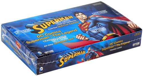 DC Superman: The Legend Trading Card Box