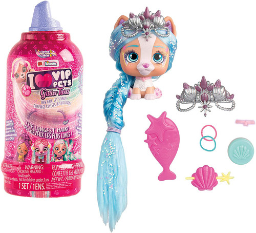 VIP Pets Series 2 Glitter Twist Mystery Surprise Hair Reveal Doll (Pre-Order ships May)