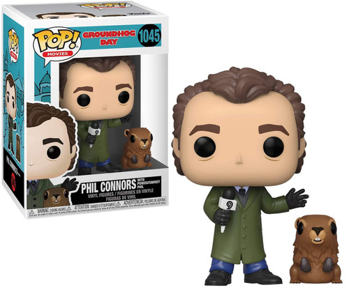 Funko Groundhog Day POP! Movies Phil with Punxsutawney Phil Vinyl Figure