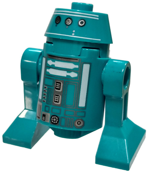 LEGO Star Wars Episode 9 Dark Turquoise Astromech Droid Minifigure [Loose]