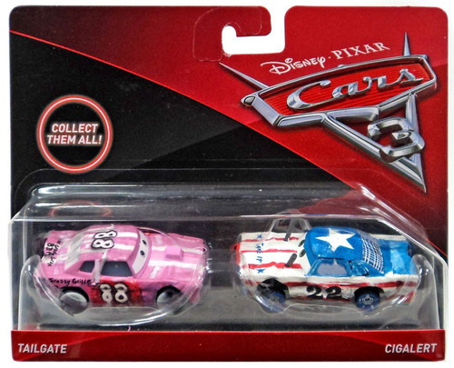 Disney / Pixar Cars Cars 3 Tailgate & Cigalert Diecast 2-Pack [Damaged Package]
