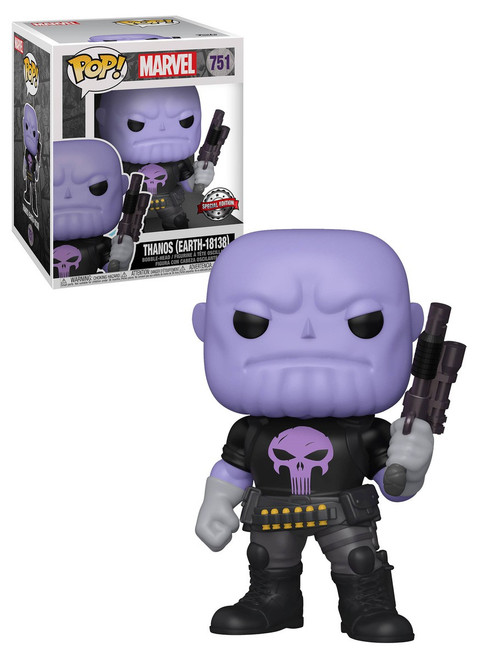 Funko POP! Marvel Thanos Exclusive 6-Inch Vinyl Figure [Super-Sized, Earth-18138] (Pre-Order ships January)