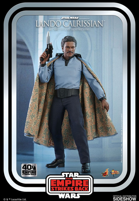 Star Wars Empire Strikes Back Movie Masterpiece Lando Calrissian Collectible Figure MMS585 (Pre-Order ships March 2022)