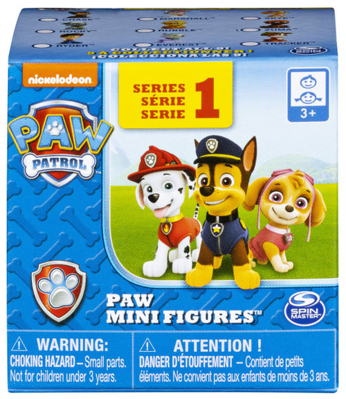 Paw Patrol Series 1 Paw Mini Figures Mystery Pack [Loose]