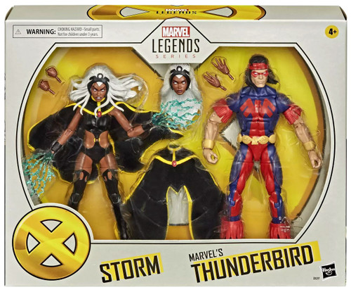 X-Men Legends 20th Anniversary Storm & Marvel's Thunderbird Exclusive Action Figure 2-Pack