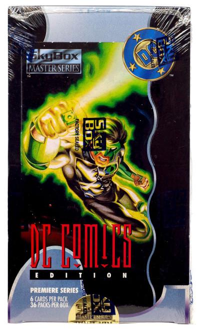Master Series DC Comics Edition Trading Card HOBBY Box [36 Packs]