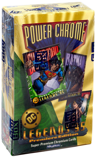 DC Power Chrome Legends '95 Premiere Edition Trading Card HOBBY Box