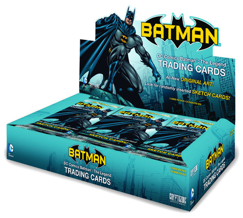 DC Comics Batman: The Legend Trading Card Box [24 Packs]