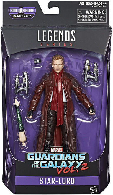 Guardians of the Galaxy Vol. 2 Marvel Legends Mantis Series Star Lord 2 Action Figure [Damaged Package]