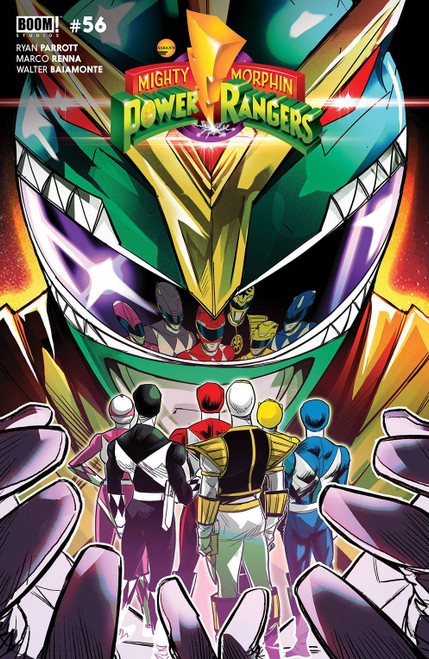Boom Studios Mighty Morphin #1 Comic Book [Carlini Legacy Variant]