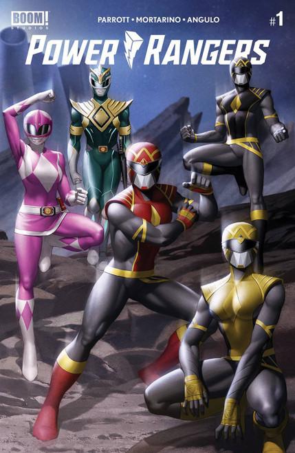 Boom Studios Power Rangers #1 Comic Book [Yoon Connecting Variant]