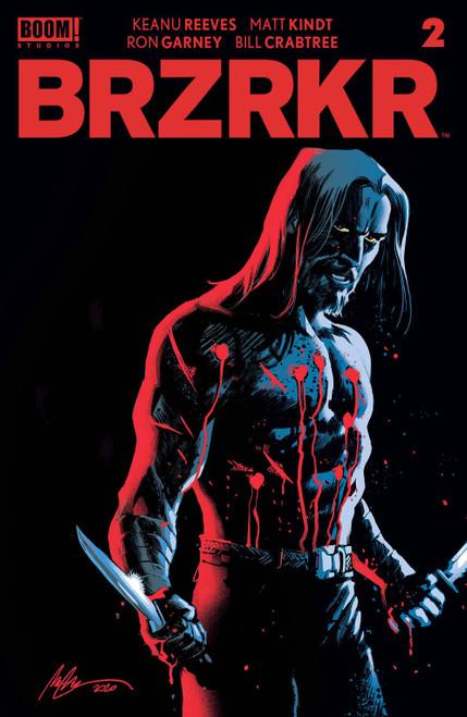 Boom! Studios Brzrkr #2 Comic Book [Cover B Vitti] (Pre-Order ships January)