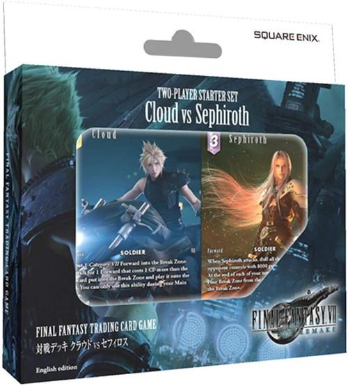 Trading Card Game Final Fantasy VII Remake Cloud vs. Sephiroth 2-Player Starter Set