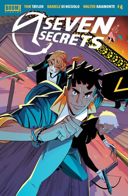 Boom! Studios Seven Secrets #4 Comic Book