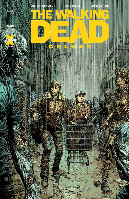 Image Comics The Walking Dead Deluxe #4 Comic Book [Cover A Finch & McCaig]
