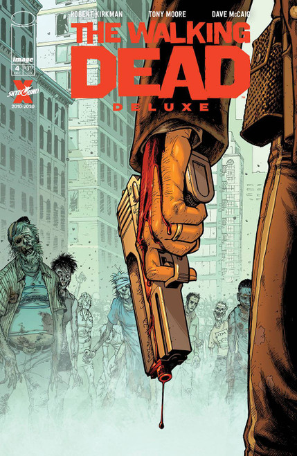 Image Comics The Walking Dead Deluxe #4 Comic Book [Cover B Moore & McCaig] (Pre-Order ships December)