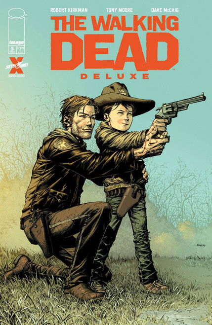 Image Comics The Walking Dead Deluxe #5 Comic Book [Cover A Finch & McCaig] (Pre-Order ships December)