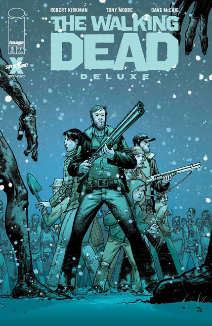 Image Comics The Walking Dead Deluxe #5 Comic Book [Cover B Moore & McCaig] (Pre-Order ships December)