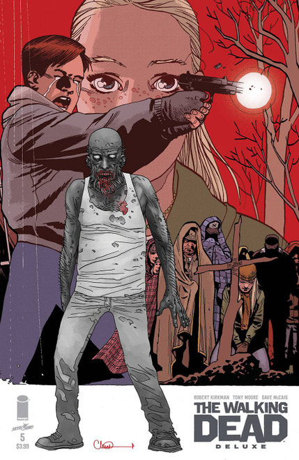 Image Comics The Walking Dead Deluxe #5 Comic Book [Cover C Adlard & McCaig] (Pre-Order ships December)