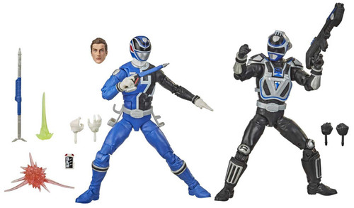 Power Rangers Lightning Collection S.P.D. B-Squad Blue Ranger vs S.P.D. A-Squad Blue Ranger Action Figure 2-Pack (Pre-Order ships January)