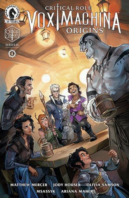 Dark Horse Critical Role Vox Machina Origins #1 of 6 Series III Comic Book