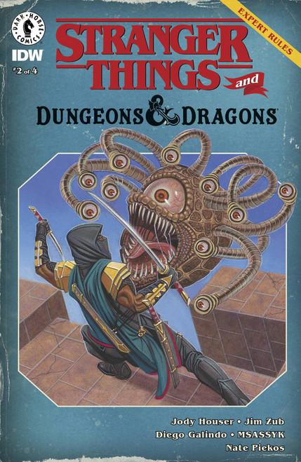 Dark Horse Stranger Things D&D Crossover #2 Comic Book [Cover D David Michael Beck]