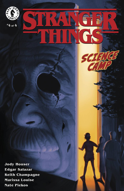Dark Horse Stranger Things Science Camp #4 Comic Book