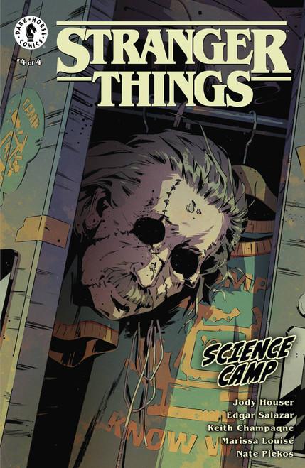 Dark Horse Stranger Things Science Camp #4 Comic Book [Cover C Pius Bak]