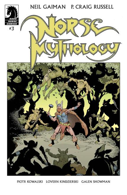 Dark Horse Neil Gaiman Norse Mythology #3 Comic Book