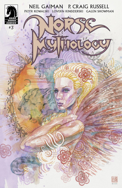 Dark Horse Neil Gaiman Norse Mythology #3 Comic Book [Cover B David Mack]