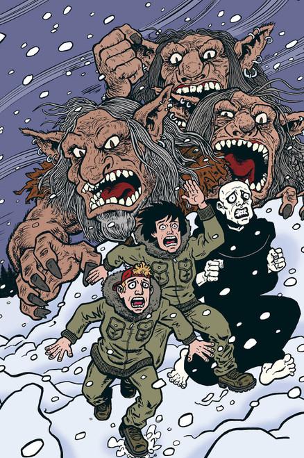 Dark Horse Bill & Ted Are Doomed #4 Comic Book [Evan Dorkin Cover A]